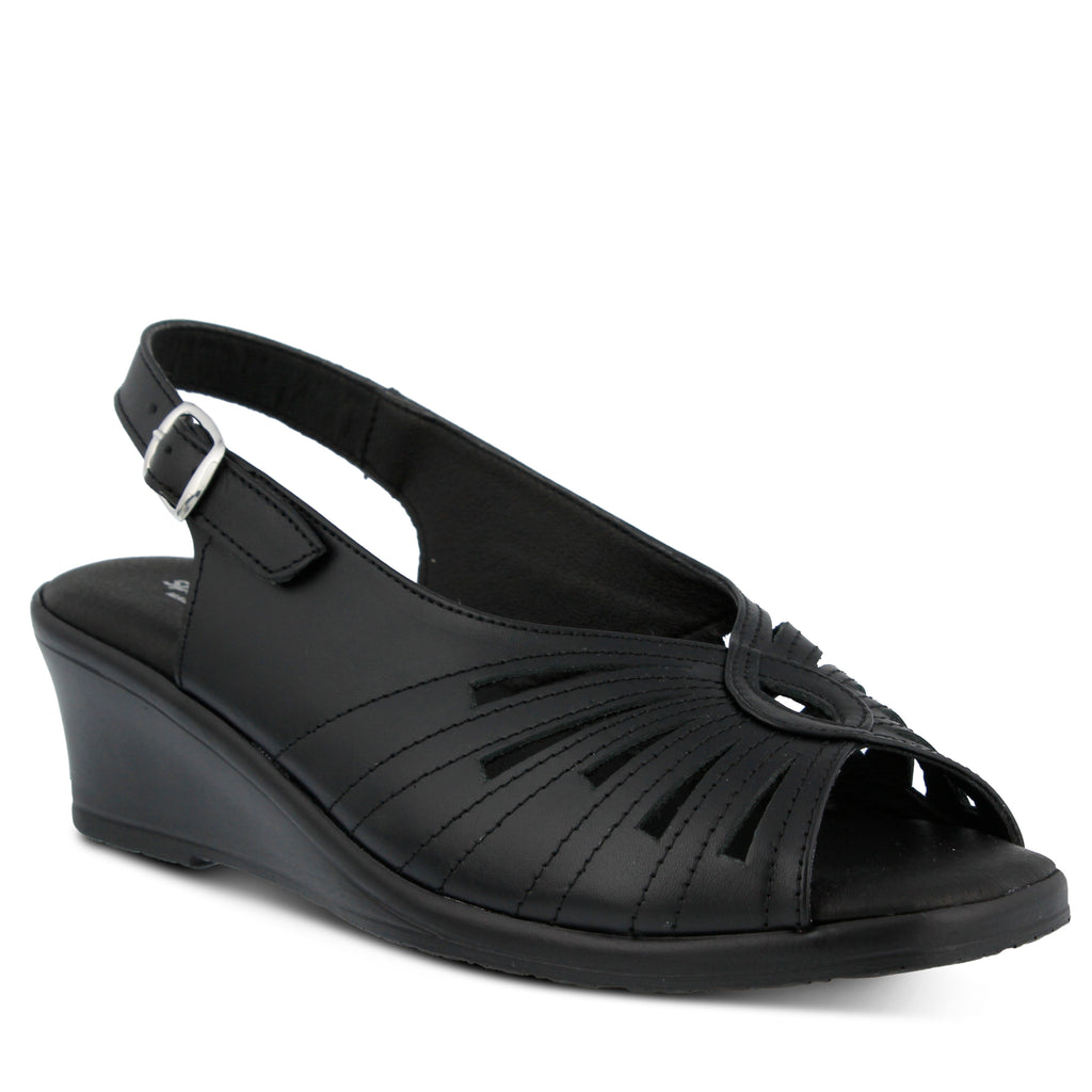 e8acec708d58 BLACK GAIL SANDAL by SPRING STEP – Spring Step Shoes