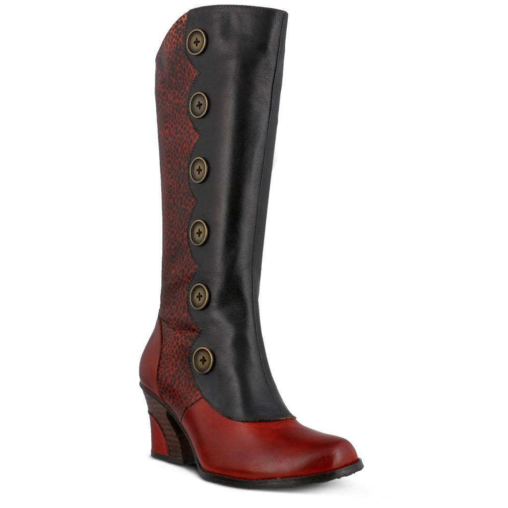 Original Online With Paypal For Sale Spring Step Galena Tall Boot(Women's) -Black Leather v3qhC
