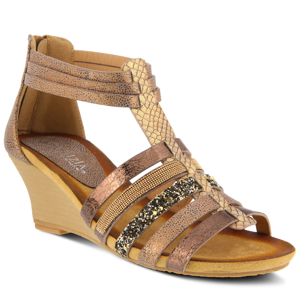 f2e885593317 COPPER HANA SANDAL by PATRIZIA – Spring Step Shoes