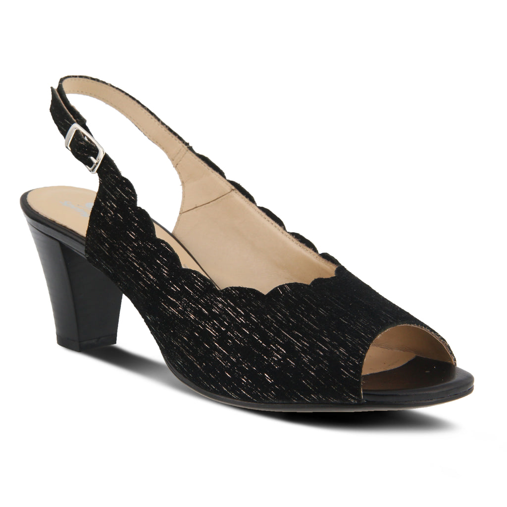 Spring Step Janelle Scalloped Heel TjVhDJ