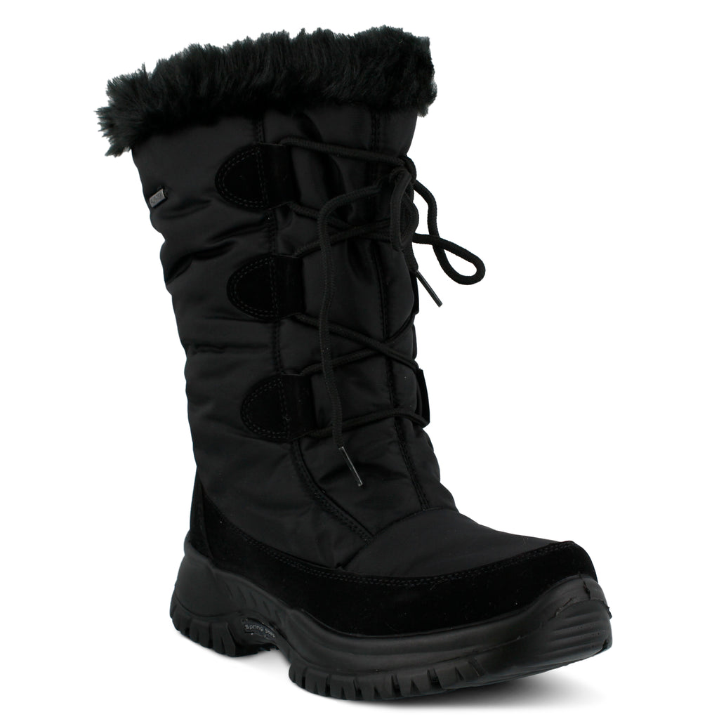 a66ab63cb321 BLACK ZURICH BOOT by FLEXUS – Spring Step Shoes