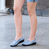 FESTIVAL-LACE SLIP-ON SHOE