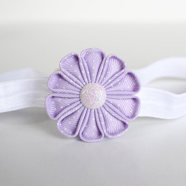 Single Fabric Flower Headband