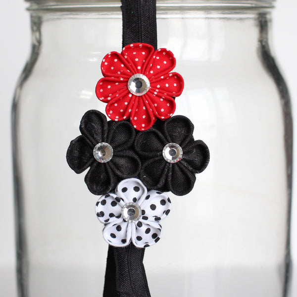 Quad Flower Headband