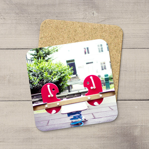 Photo Coasters of a Teeter Totter in Bergen Norway by Photographer Larry Jang