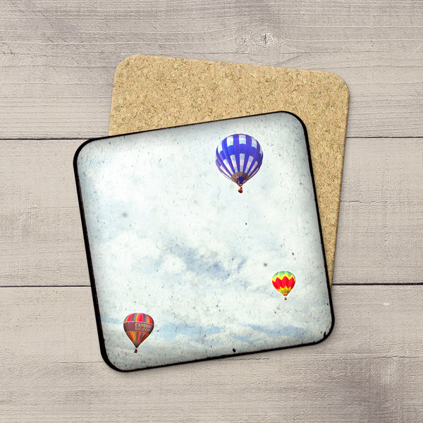 Photo Coasters of Hot Air Balloons by Photographer, Larry Jang.