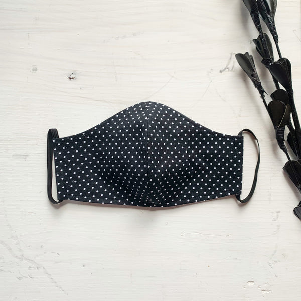 Fabric Mask - Polka Dots