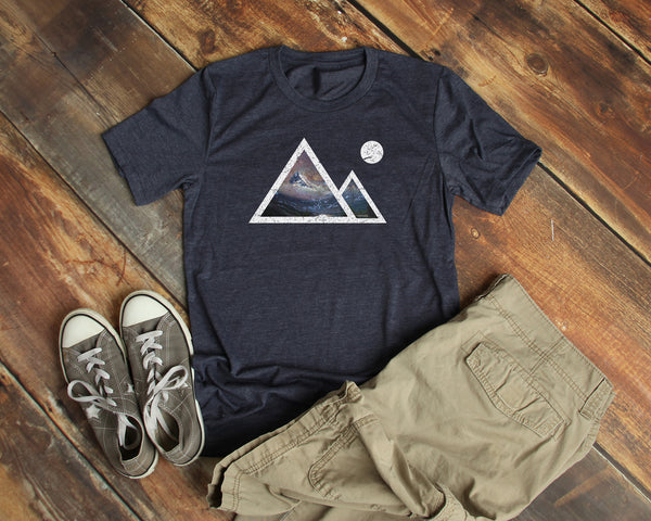 Mountains Shirt Mens Unisex