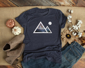Mountains Shirt Womens