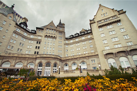 Our Hotel MacDonald is a historical building in Edmonton that is as gorgeous then as it is now!