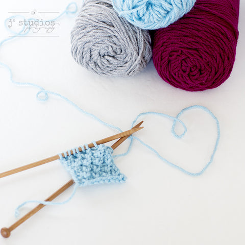 Art print dedicated to knitters and crafters. Express Yourself Photography.