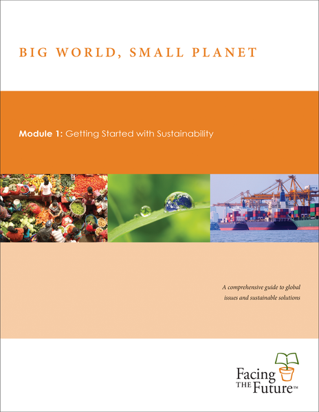 Big World, Small Planet - Module 1: Getting Started With Sustainability, Student Edition, Single Copy