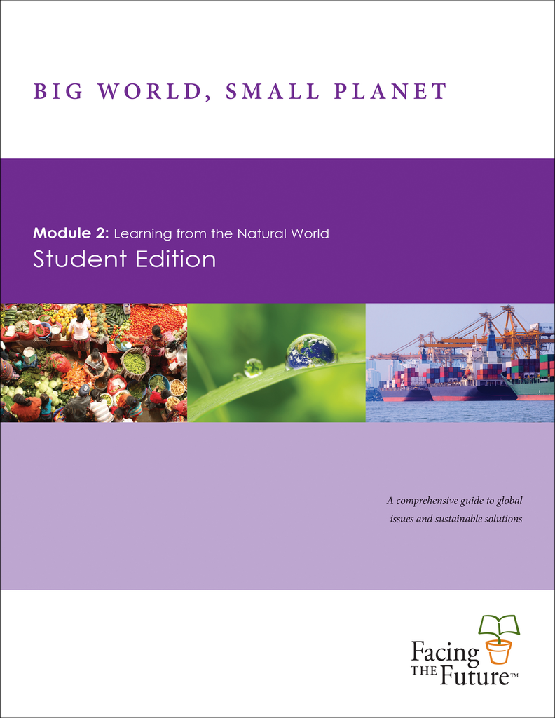 Big World, Small Planet - Module 2: Learning from the Natural World, Student Edition, Single Copy