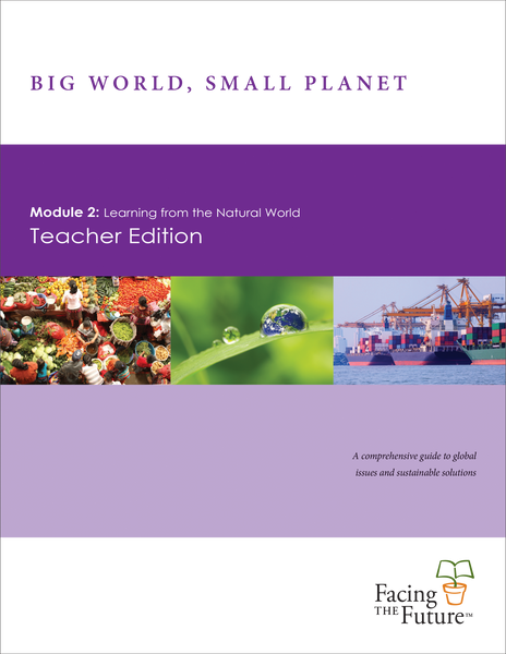 Big World, Small Planet - Module 2: Learning from the Natural World, Teacher Edition, Single Copy