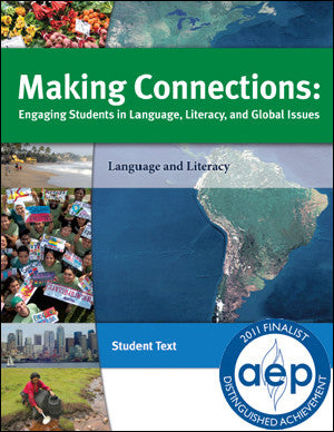 Making Connections, Global Sustainability Curriculum Student Workbook for Grades 6 to 12