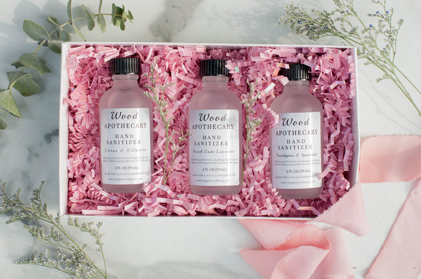 Scented Hand Sanitizer Spring Trio Gift Set