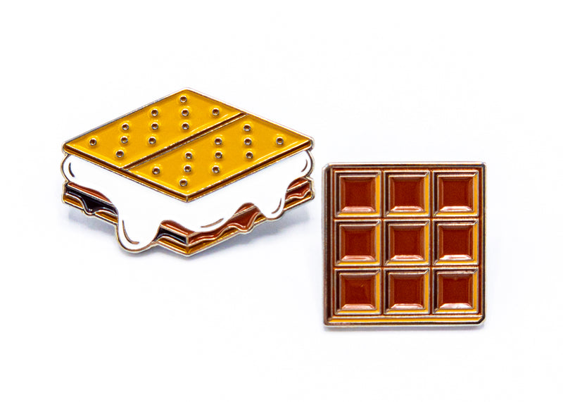 S'more • 2 Enamel Pin Set
