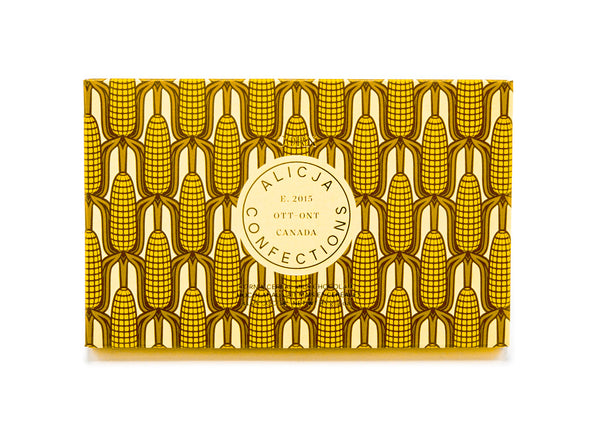 Corn • Corn and Cereal 33.6% Milk Chocolate