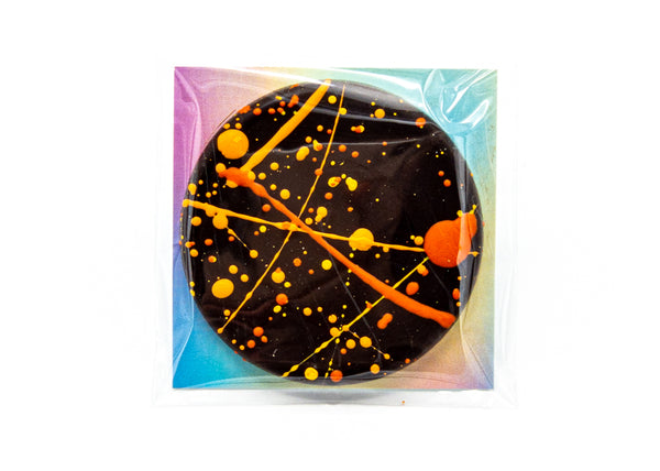 Fruit • Orange • Dark Chocolate Disc