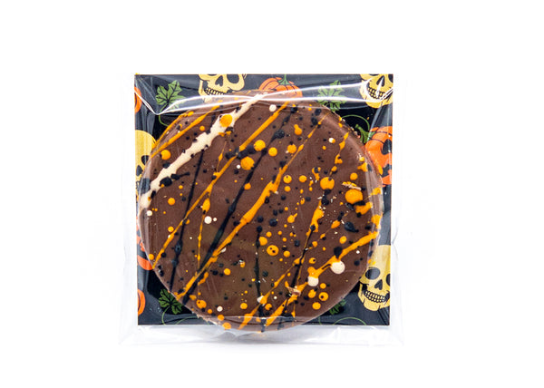 Halloween • Happy Halloween • Milk Chocolate Disc