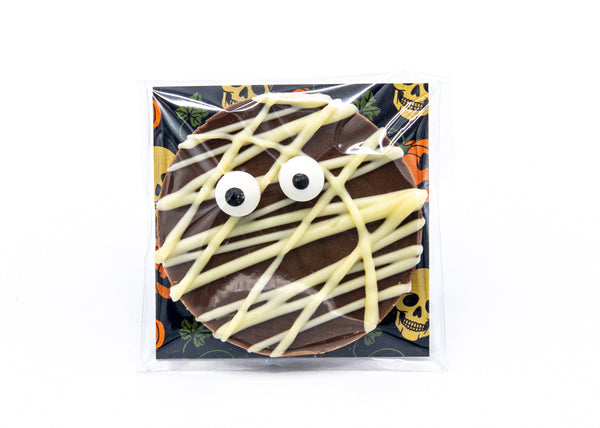 Halloween • Mummy • Milk Chocolate Disc