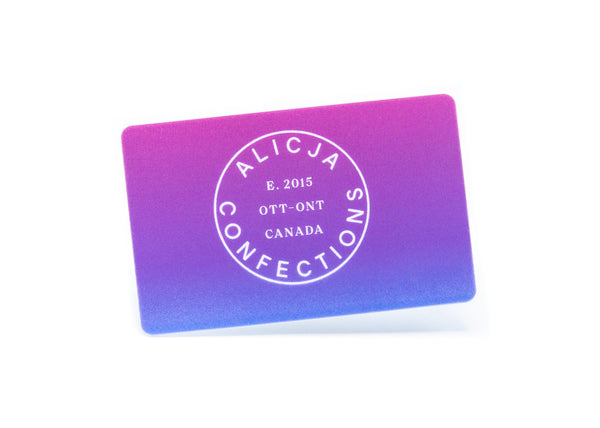 Alicja Confections Gift Card