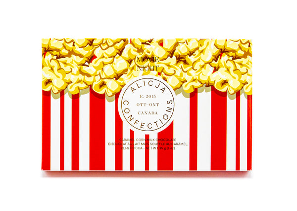 Movie Night • Caramel Popcorn 33.6% Milk Chocolate