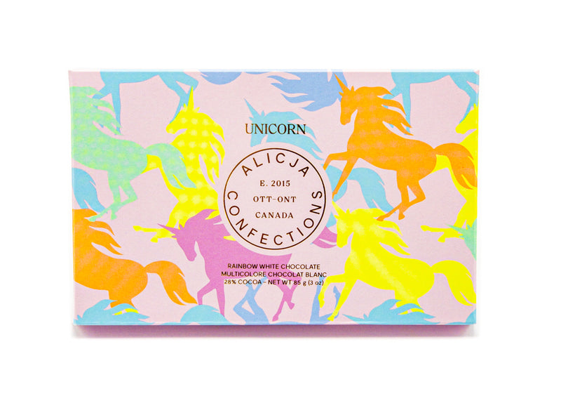 Unicorn • Rainbow and Sprinkles 28% White Chocolate