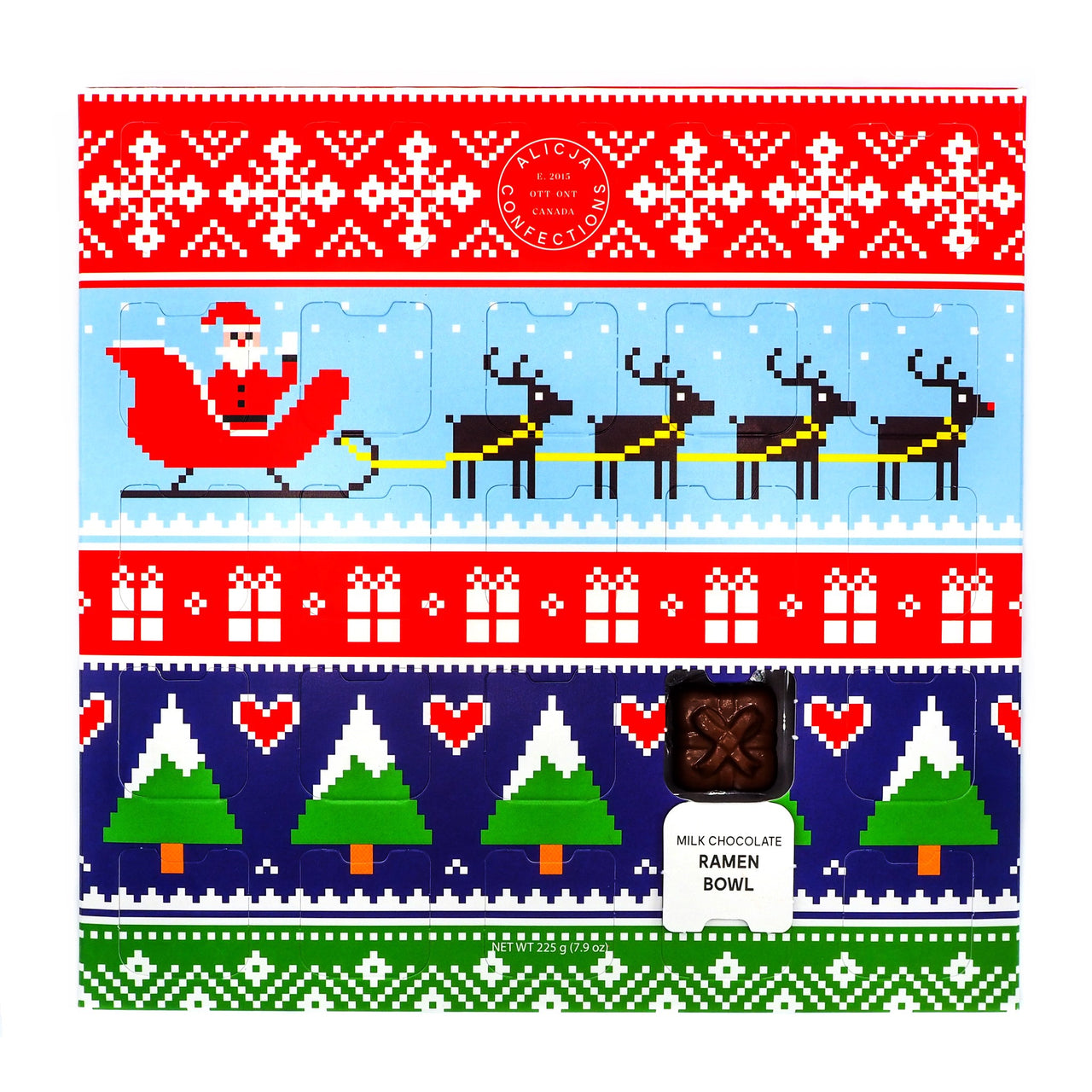 Postcard Chocolate Bar Advent Calendar & Taster Set (PRE-ORDER)