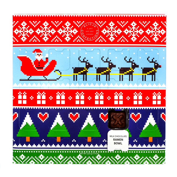 Postcard Chocolate Bar Advent Calendar & Taster Set - Alicja Confections