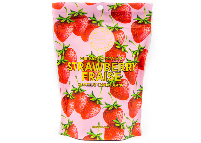 Strawberry Blonde • Strawberry White Hot Chocolate Mix