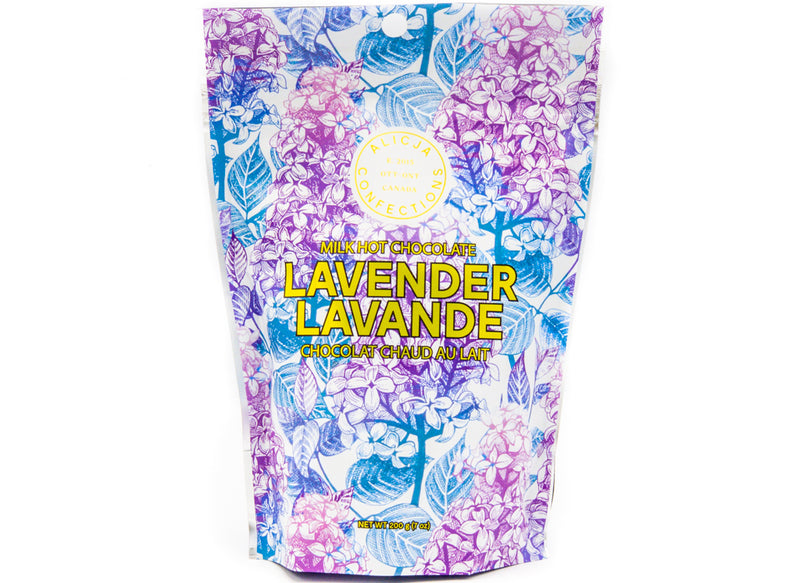 Lavender Lilac • Lavender Milk Hot Chocolate Mix