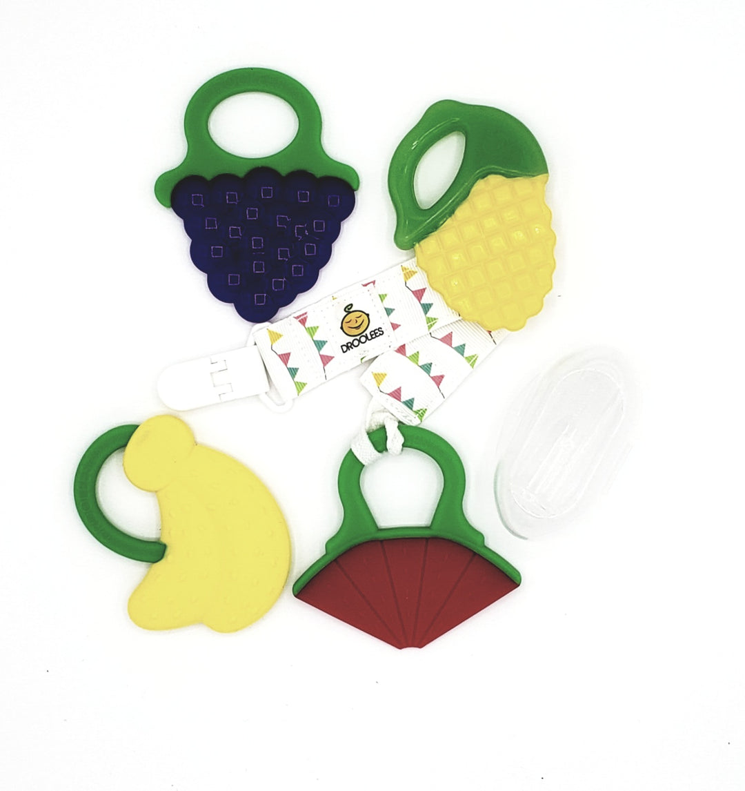 Drooleecious Teether Toys Ultimate Teething Kit