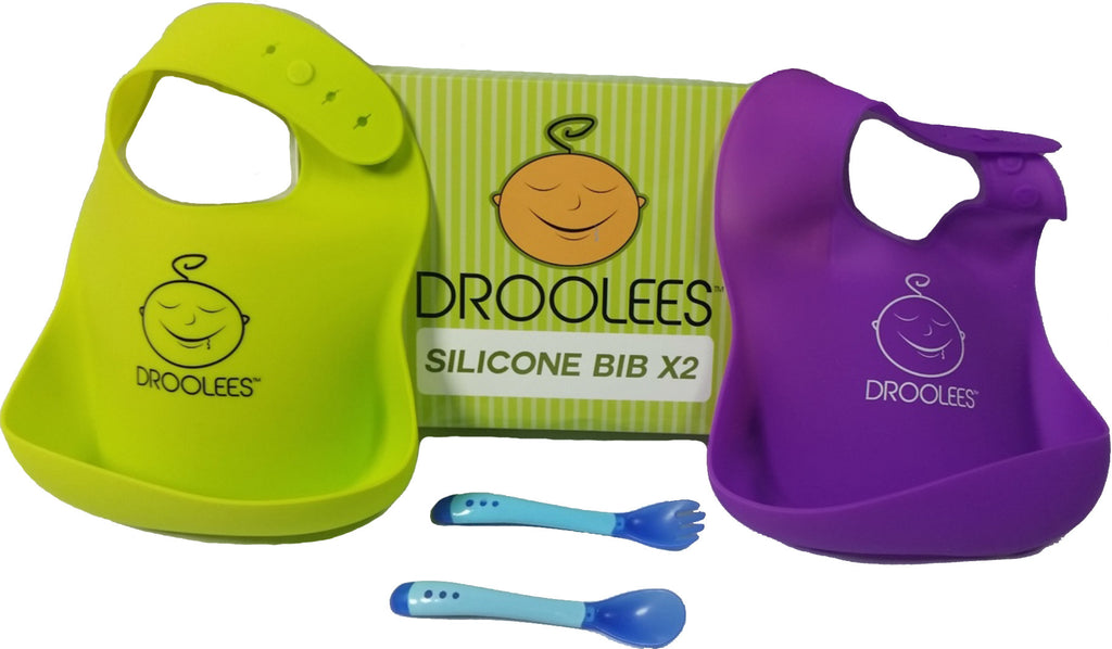 Droolees Silicone Bibs x2 - Droolees