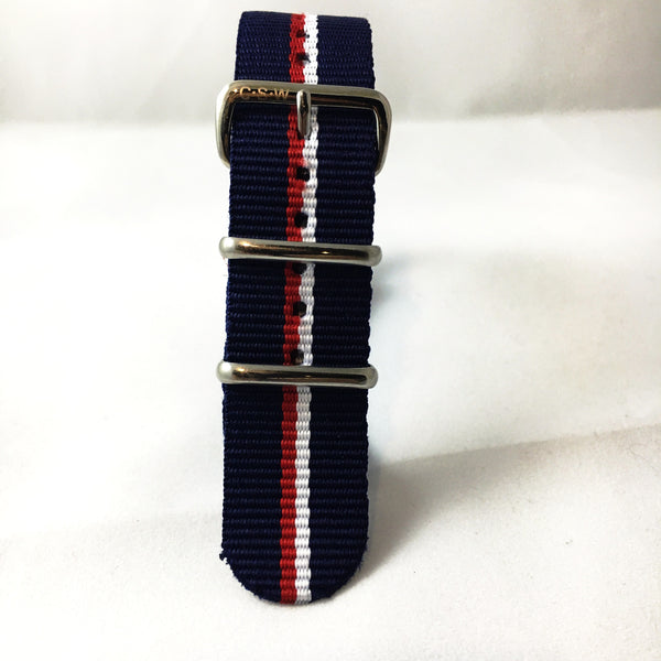 "22mm Supple ""Key Largo"" Strap - Cincy Strap Works"