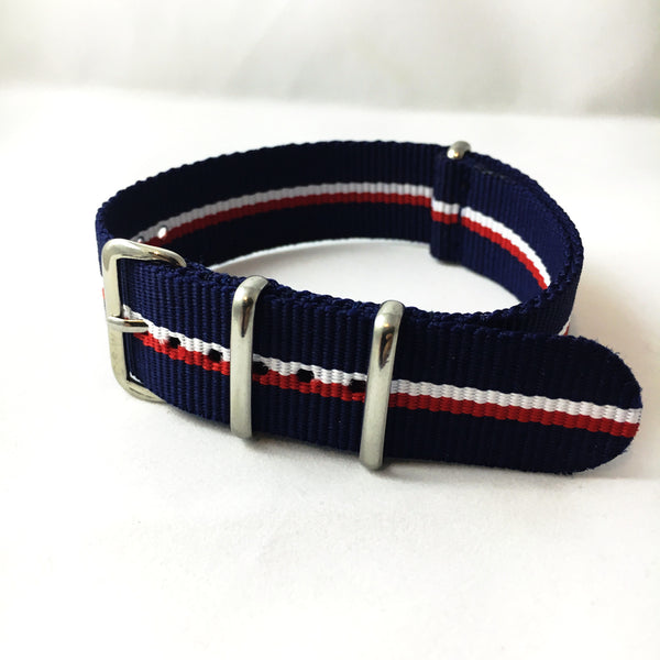 "20mm Supple ""Key Largo"" Strap - Cincy Strap Works"