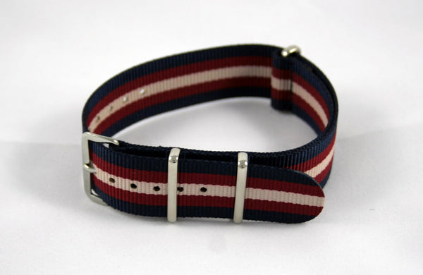 "20mm Premium ""Independence"" Nylon - Cincy Strap Works"