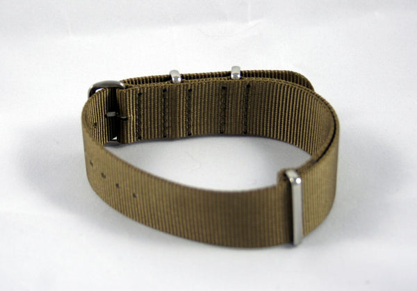 22mm Premium Desert Sand Nylon Strap - Cincy Strap Works