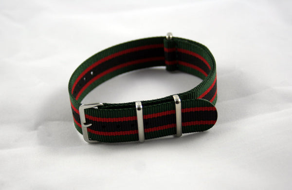 "20mm Premium ""Vermont VII"" Nylon - Cincy Strap Works"