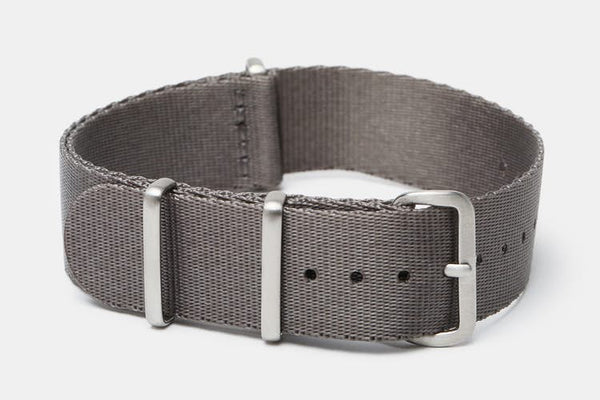 "20mm ""SB"" Gray seat belt Strap - Cincy Strap Works"