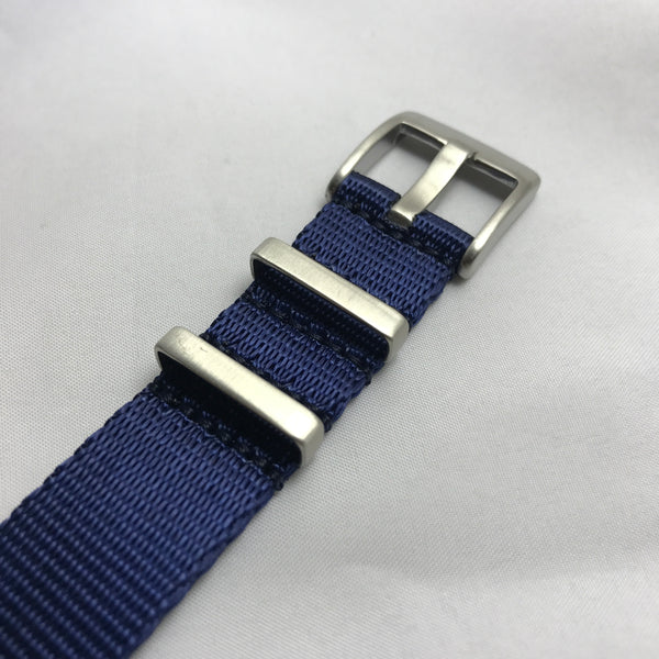 "22mm Premium ""SB"" Navy Blue Seat Belt Strap"