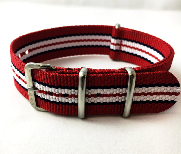 "22mm Supple ""Franklin"" Strap - Cincy Strap Works"
