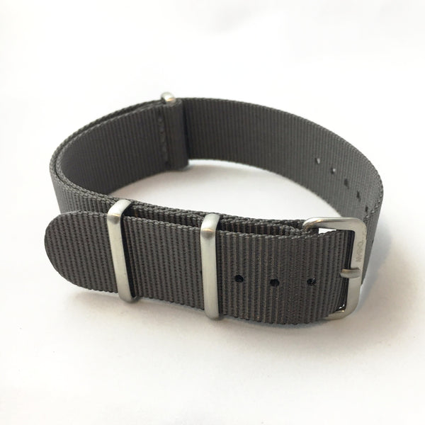 22mm Premium Charcoal Gray Milspec Nylon