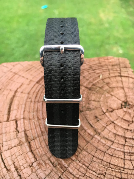 "22mm ""SB"" Black ""Stealth Bond"" Milspec Strap"