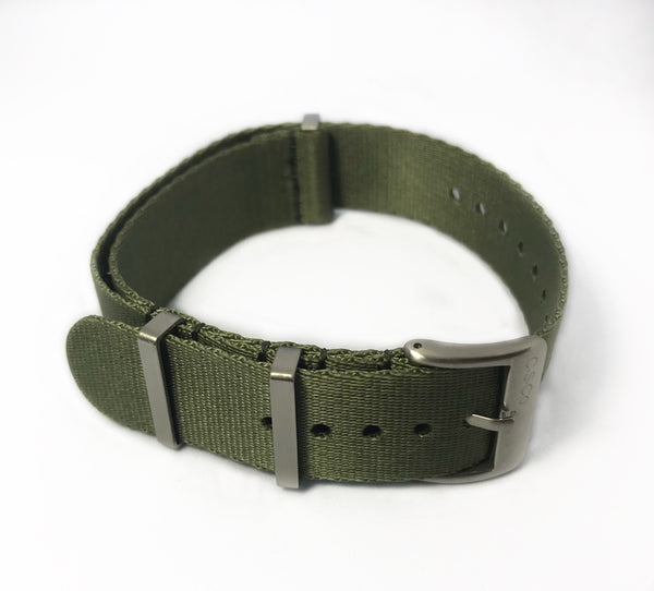 "22mm ""SB"" OD Green Seat Belt Strap"