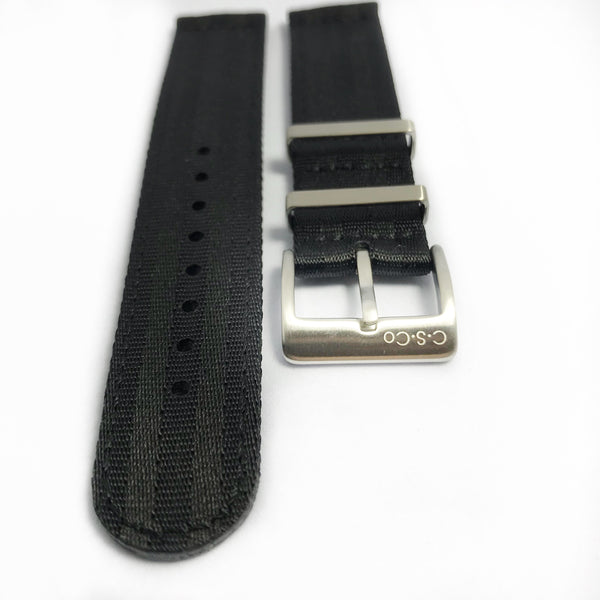 "20mm 2 Piece ""SB"" Stealth Bond Seat Belt Strap"