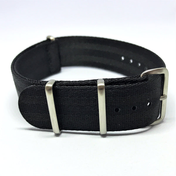 "20mm ""SB"" Black ""Stealth Bond"" seat belt Strap - Cincy Strap Works"