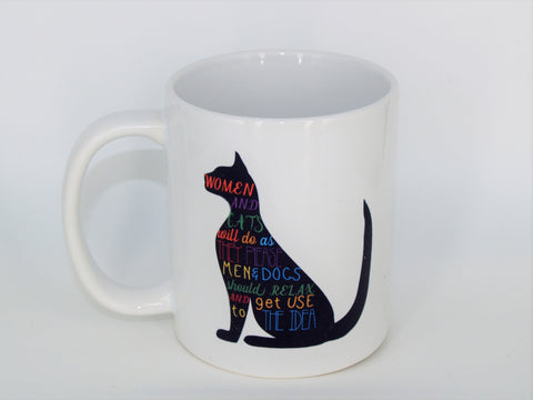 Women and Cats - Coffee mug