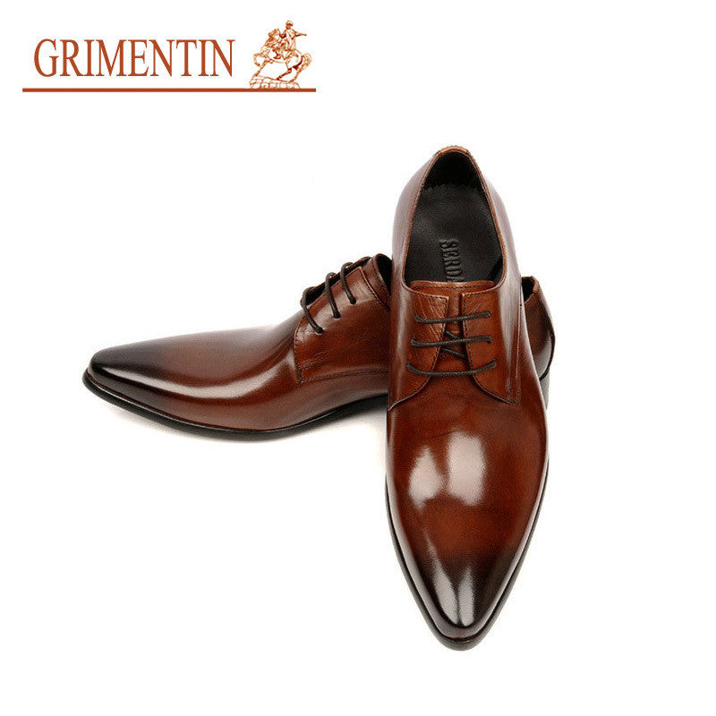 a94be3f80e25 DonMillions Empire. 0. GRIMENTIN 2015 Italian luxury designer formal mens  dress shoes genuine leather ...