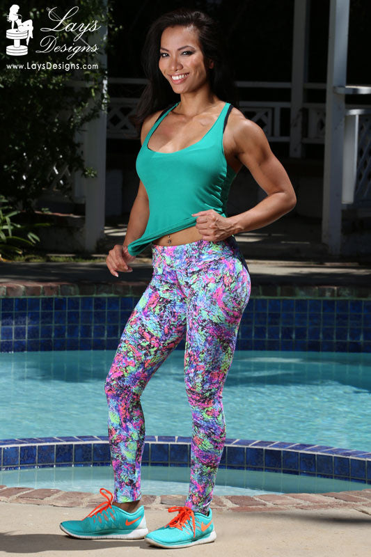 Leggings - Splash of Color Leggings